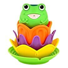 Munchkin Magic Colour Lily Pad Stackers, Multicolor, 1-Count