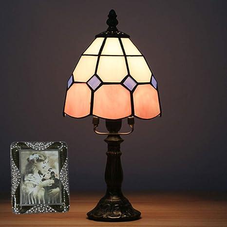 L estilo noche mesita Luz la de de Tiffanyinterruptor San j5RLq34A