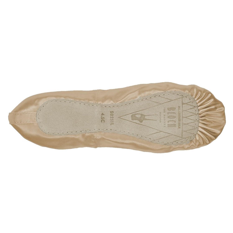 Zapatillas de ballet de raso de suela completa Bloch 231 Prolite - Rosa - Tamaño 36 - B Fitting 3l0kwwCSF