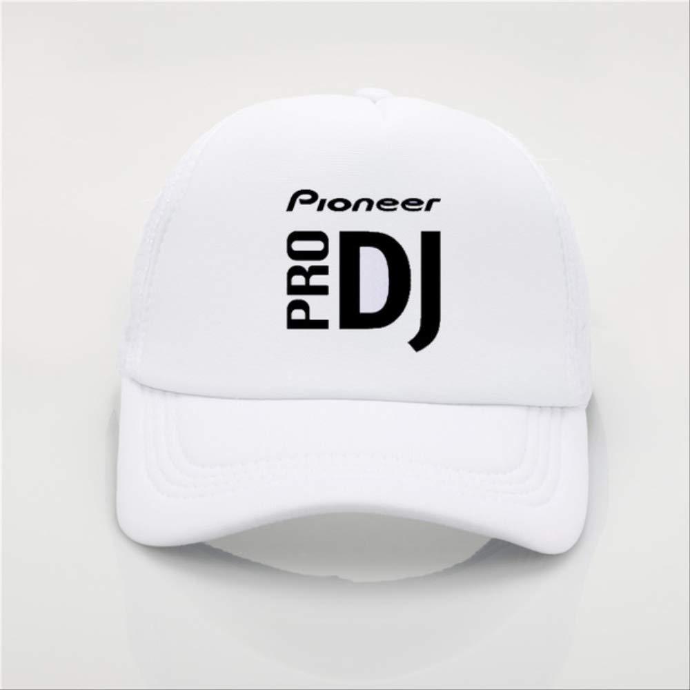 Hittings Unisex DJ Pioneer Adjustable Peaked Tiene Gorra de b/éisbol Black