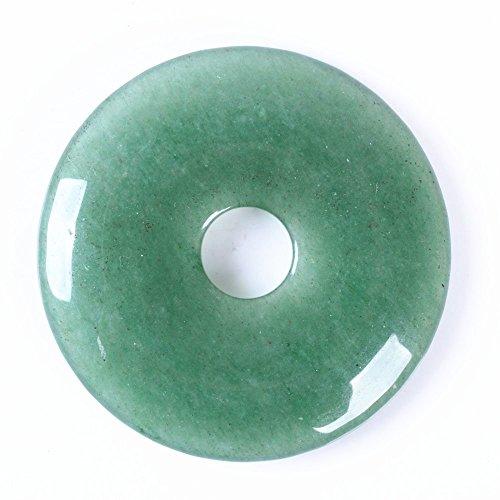 Beautiful Jasper Pendant (50mm Beautiful Gemstone Jasper Donut Pendant Bead 1Pcs,DIY Jewelry Accessories For Necklace 2