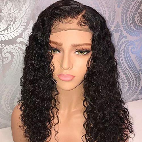 SMHair 360 Lace Frontal Wig Pre-Plucked Hairline Brazilian Virgin Glueless 360 Human Hair Wigs for Black Women Natural Color and Baby Hair (20inch with 150% density) (Best Hair Colour For Women Over 50)