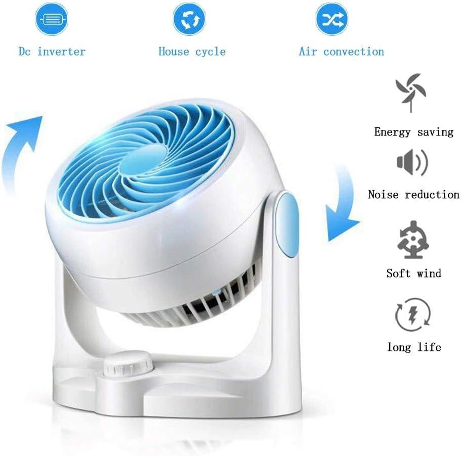 SDYBFS Ventilador Turbo De Circulación De Aire Ventilador De Convección De Aire Ventilador De Enfriamiento Ventilador Silencioso del Hogar Ventilador De Circulación De Escritorio