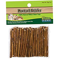 Ware Manufacturing Willow Critters Pretzel Sticks Small Pet Chew(Pack of 1)