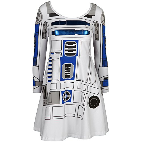 Star Wars R2 D2 Long Sleeved Skater