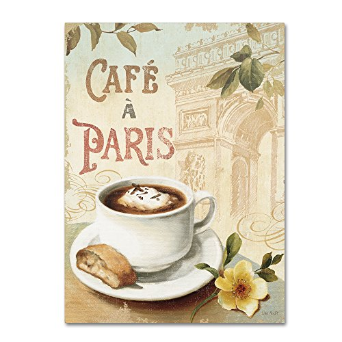 Cafe in Europe I Wall Decor by Lisa Audit