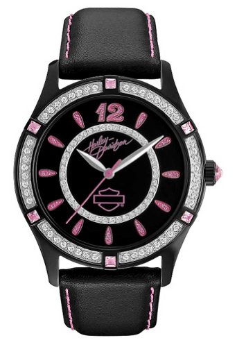 Harley-Davidson Womens Pink Label Collection Watch. 78L113