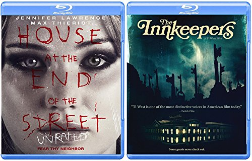 Terror Hits Home House at The End of The Street Unrated Jennifer Lawrence Blu Ray + Innkeepers Ghost Hunters Double Feature (House At The End Of The Street Unrated)