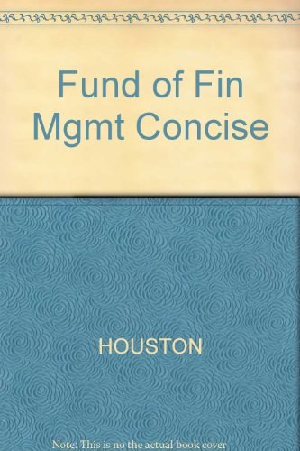 Fund of Fin Mgmt Concise