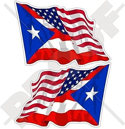 4 X Aufkleber Auto Motorrad Flagge USA Amerika Amerikanische USA