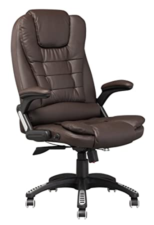 life carver luxury reclining executive high back office chair faux