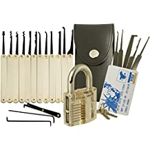 MOMO® 15 pcs Portable & Durable Steel Unlocking Lock Kit