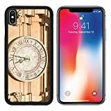 MSD Premium Apple iPhone X Aluminum Backplate Bumper Snap Case IMAGE ID: 35180317 Old clock on St Paul cathedral in Mdina Malta