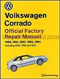 1990-1994 Volkswagen Corrado Repair Shop Manual