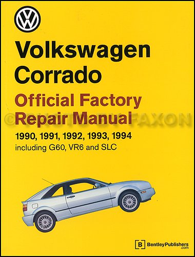 Price comparison product image 1990-1994 Volkswagen Corrado Repair Shop Manual