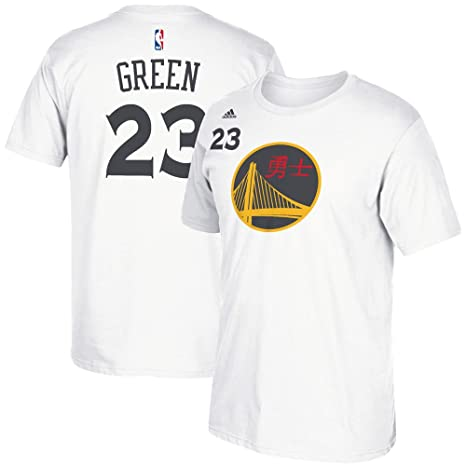 35952f354 Draymond Green Golden State Warriors White Chinese New Year Jersey Name and Number  T-shirt