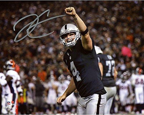 Derek Carr Oakland Raiders Autographed 8