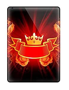 6461511K11739769 High Quality Shock Absorbing Case For Ipad Air-king Of Fire Design Hd Wide