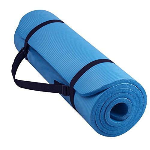 Oalas Extra Thick 71 Inch Long NBR Soft Comfort Beginner Training Foam Indoor Outdoor Yoga Exercise Mat Pilates