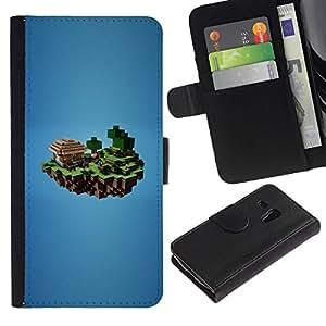 All Phone Most Case / Oferta Especial Cáscara Funda de cuero Monedero Cubierta de proteccion Caso / Wallet Case for Samsung Galaxy S3 MINI 8190 // M1necraft Mine