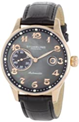 Stuhrling Original Men's 148.33451 Classic Heritage Automatic Mother Of Pearl Date Watch