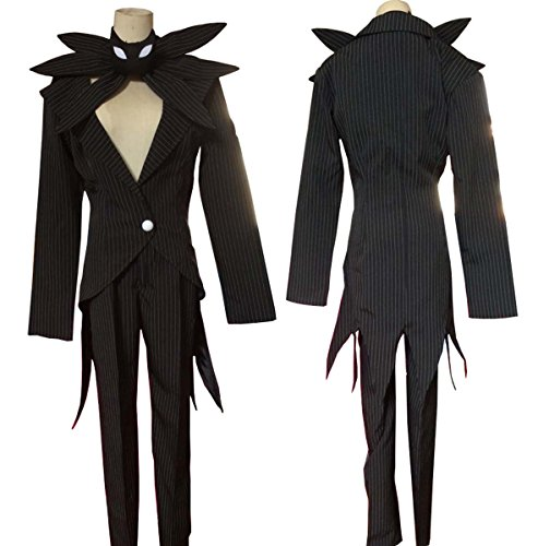 No Brand Men's 3097The Nightmare Before Christmas Jack Skellington (XXL) (The Nightmare Before Christmas Jack Skellington Adult Costume)