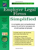 Employer Legal Forms Simplified, Daniel Sitarz, 1892949261