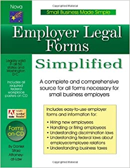 Buy Employer Legal Forms Simplified Small Business Made Simple - Simple legal forms