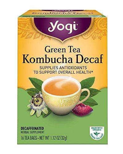 Yogi Teas Kombucha Decaf Packaging product image