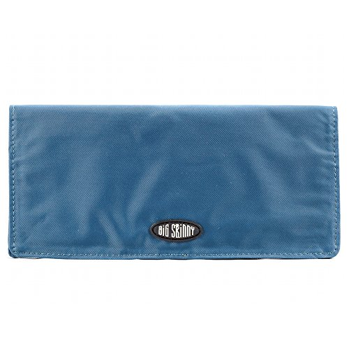 xecutive Bi-Fold Checkbook Slim Wallet, Holds Up to 40 Cards, Ocean Blue ()