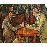 "CANVAS ON DEMAND Paul Cezanne Wall Peel Wall Art Print Entitled The Card Players, 1893 96 12""x10"""