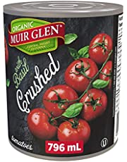Muir Glen Organic Basil Crushed Tomatoes, 796-Milliliter