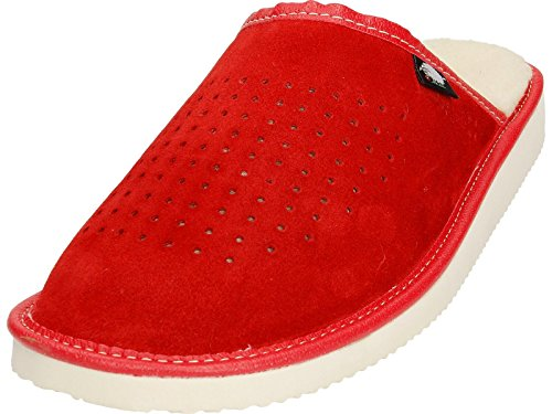 Ecoslippers , Damen Hausschuhe Rot