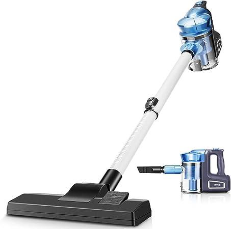 ZJBD Aspirador de Mano, Aspirador pequeño de Gran Potencia y Potencia de 500 vatios. Aspirador pequeño de Gran Potencia, Radio de Funcionamiento de 5 m, Azul: Amazon.es: Hogar