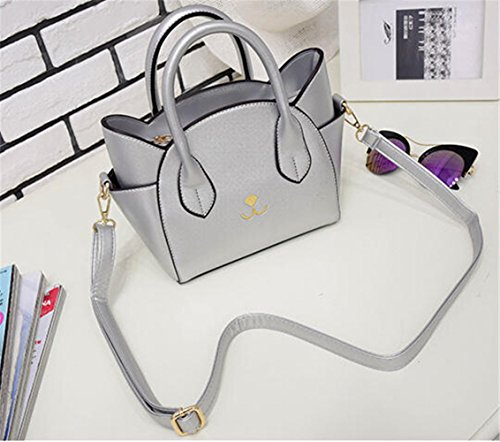 TOMATO-smile - Bolso mochila  para mujer azul azul plata