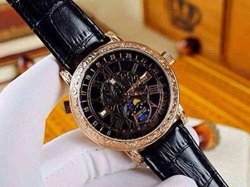 luxury-brand-top-quality-top-japanese-quartz-gold-case-black-dial-strap-movement-watch