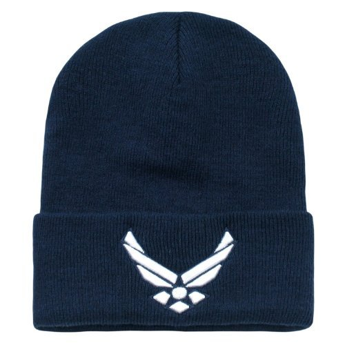 (US United States Air Force Wings Long Beanie Cap Hat)
