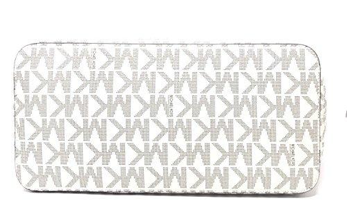 Michael Kors 35F6GFEL3L Jet Set Travel Vanilla/Acorn Large Carryall Tote Handbag by Michael Kors (Image #4)