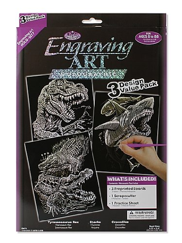 Art Engraving Royal (Royal and Langnickel Engraving Art 3 Design Value Pack, Holographic)