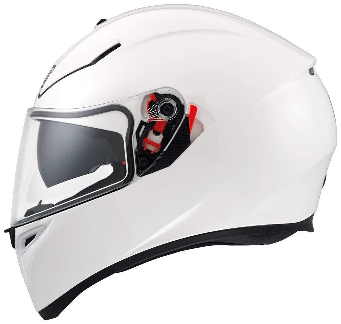Matt Black Gr/ö/ße MS AGV 0301A4EY/_002/_MS K-3 SV E2205 Solid Helm