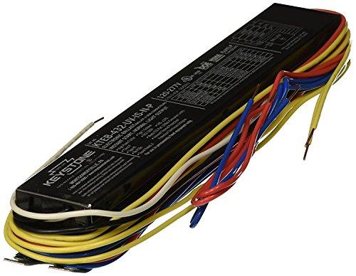 - (Pack of 10) Keystone Ballast KTEB432UVISNP T8 Electronic Fluorescent Ballast
