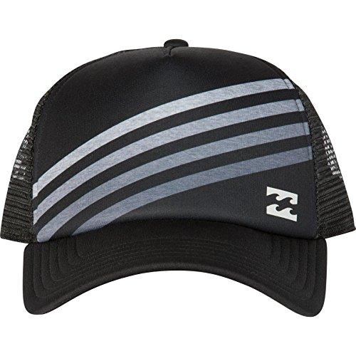 Billabong Men's Slice Adjustable Trucker Hat, Black, One Size