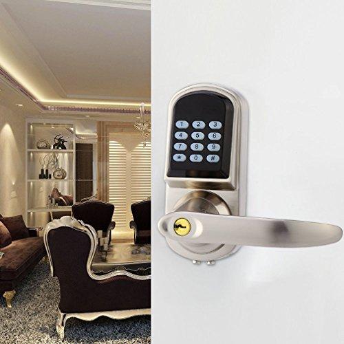 Digital Door Lock Unlock With M1 Card Code And Key