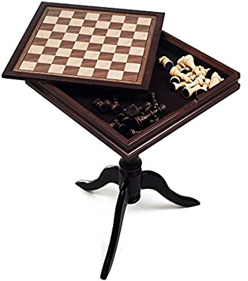 Trademark Games Deluxe Chess And Backgammon Table