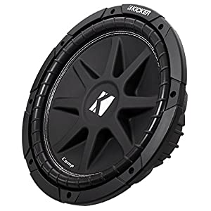 "(2) KICKER 43C124 Comp 12"" Car Subwoofers Totaling 600 Watt with Single Voice Coil"