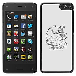 Stuss Case / Funda Carcasa protectora - Manatee Mermaid - Funny - Amazon Fire Phone