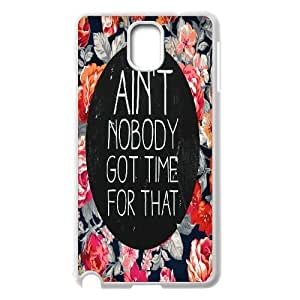 2015 customized Ain't Nobody Got Time For That Custom Case for Samsung Galaxy Note 3 N9000, Personalized Ain't Nobody Got Time For That Case