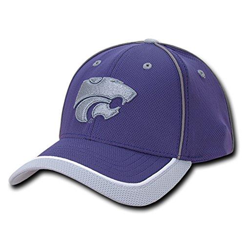 - University of Kansas State K-State Wildcats Adjustable Jersey Mesh Baseball Ball Cap Hat