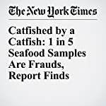 Catfished by a Catfish: 1 in 5 Seafood Samples Are Frauds, Report Finds | Nicholas St. Fleur