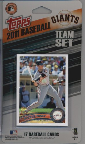 Topps Limited Francisco Giants Baseball product image